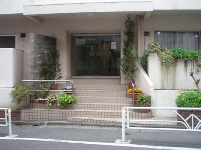 【エントランス】渋谷アジアマンション【仲介手数料無料】