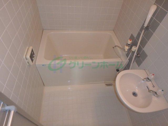 【浴室】大洋ハイツ清水谷