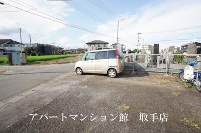 【駐車場】サンラフォーレ吉田