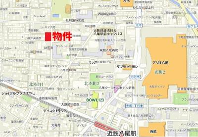 【地図】ドリーム山城