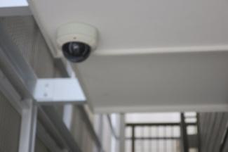 共用部分に防犯カメラあり