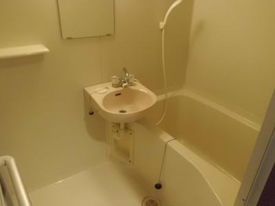 【浴室】ヴィラージュ長承寺
