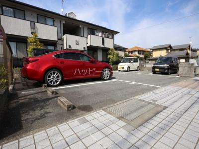【駐車場】サンハイツ