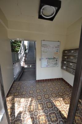 【エントランス】ライオンズマンション桜新町