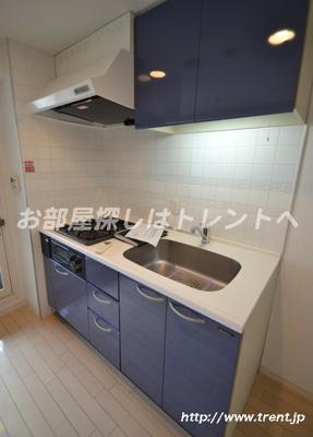 【キッチン】グリーングラス千駄ヶ谷