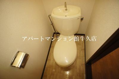 【トイレ】ホワイトビレッジF