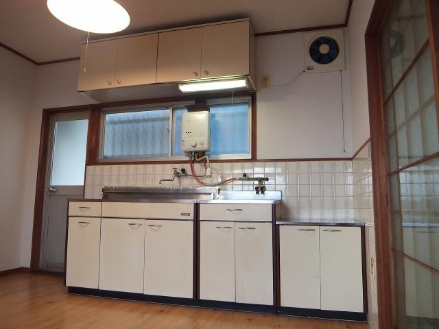 【キッチン】大原テラスハウス