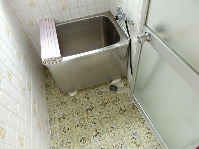 大原テラスハウス 風呂