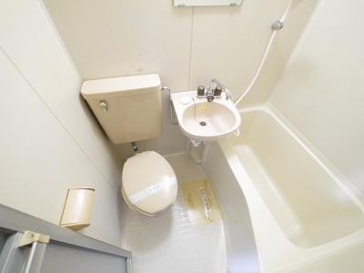【浴室】ハイツ・シロ