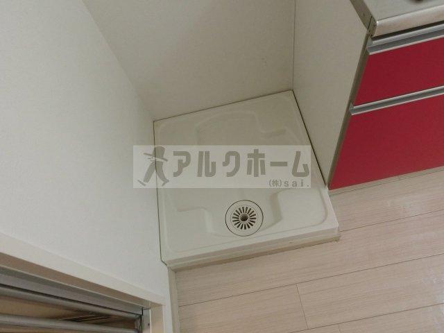ビスタハイツ西村(柏原市 河内国分駅) 室内洗濯機置場