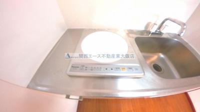 【キッチン】ラフォーレ下六万寺