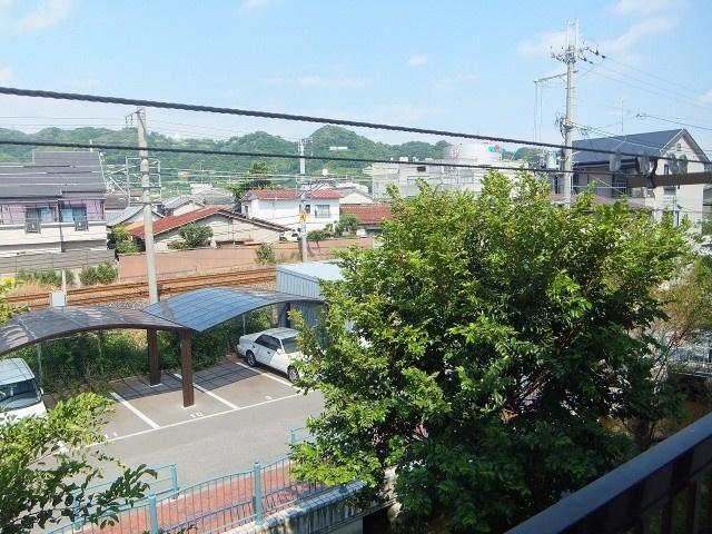 【バルコニー】ハイツ河田2