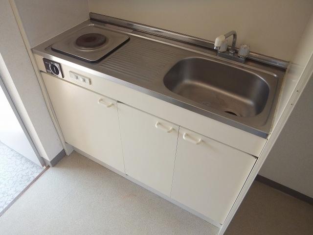 【キッチン】ハイツ河田2