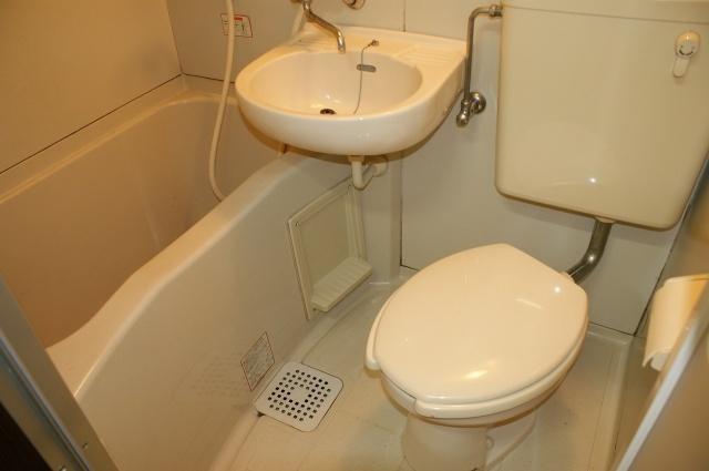 【浴室】ハイツ河田1