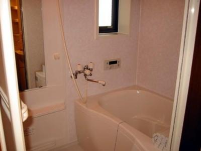 【浴室】ひまわりハイツ