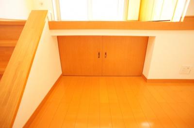 階段下収納完備♪