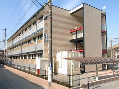 【外観】レオパレス竹山弐番館