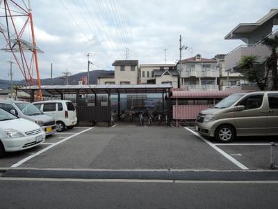 【駐車場】松岡マンションⅡ