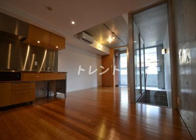 【居間・リビング】四谷アパートメント