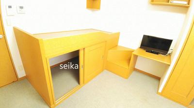 造付けベットは就寝スペースとしてご利用いただけます