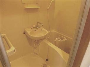 【浴室】ハイツキシダ