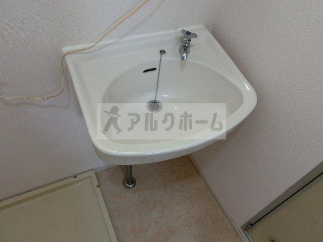 サンパティック山田(八尾) 3DK ハイツ 洗面所 独立洗面台