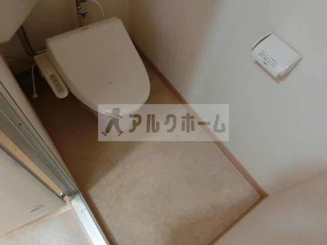 サンパティック山田(八尾) 3DK ハイツ トイレ