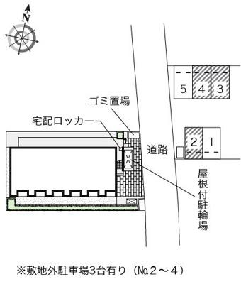 【地図】クレストタウンE