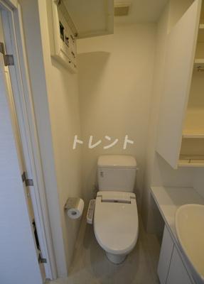 【トイレ】アクサス代々木アジールコート