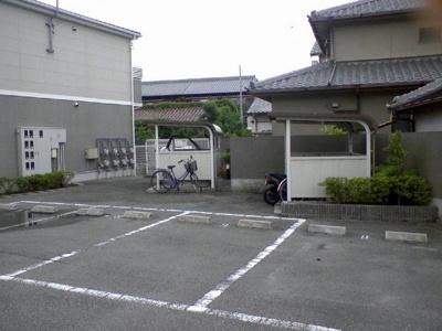 【駐車場】サンフロール神戸北Ⅱ