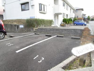 【駐車場】ハイムリバティⅢ