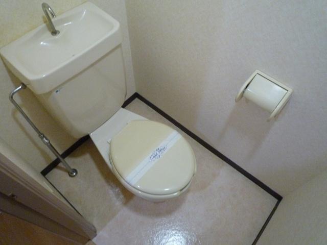 【トイレ】クレールコート安堂