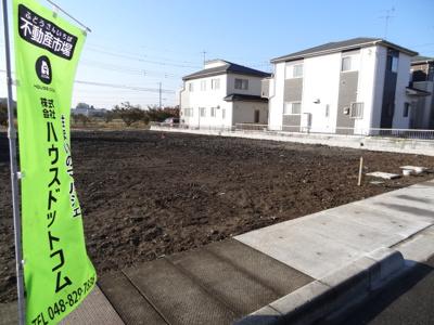 【外観】伊奈町栄1丁目/全6区画売地/1,580万円~1,880万円
