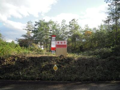 【外観】自然豊かな場所♪建築条件無し売土地!京丹波町実勢