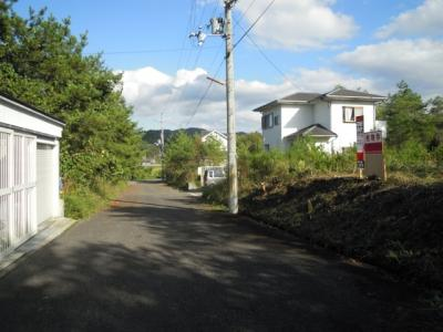 【前面道路含む現地写真】自然豊かな場所♪建築条件無し売土地!京丹波町実勢