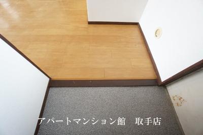 【玄関】おおつきシティハイツ