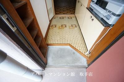 【玄関】取手セントラルハイツ