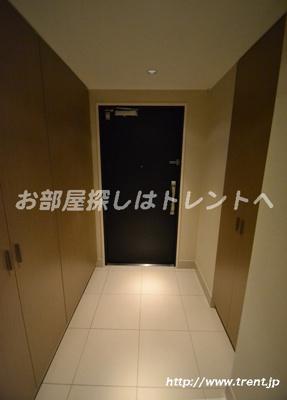 【玄関】ライオンズ東中野