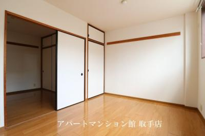 【寝室】サンハイツM