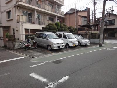 【外観】MYコーポ駐車場