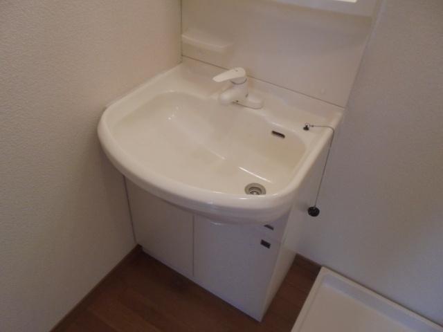 清州岡本ワンルーム 独立洗面台