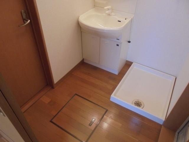 清州岡本ワンルーム 洗面所