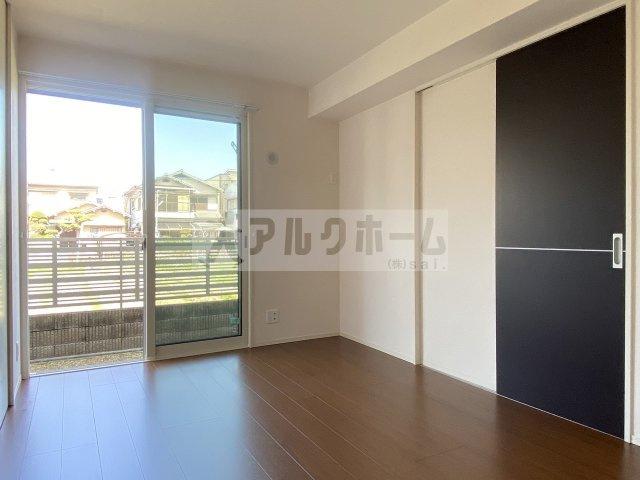 メルベール 寝室クローゼット