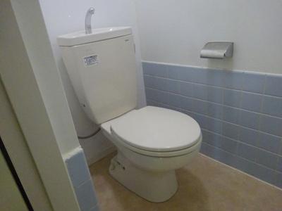 九日電ビル(1LDK) トイレ