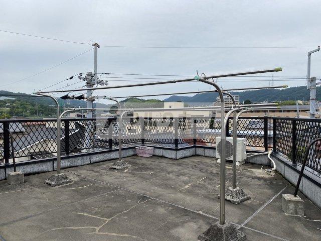 コンフォート本町 屋上の共有設備