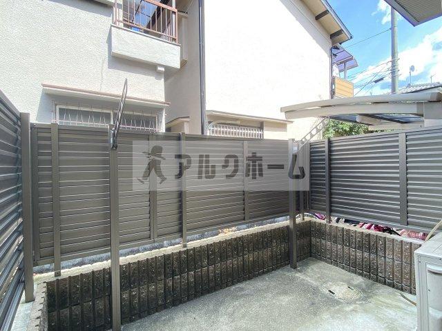 【バルコニー】コージーコート法善寺