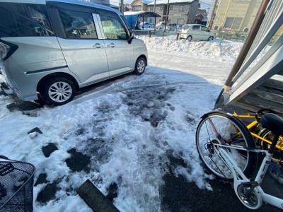 【駐車場】メゾンSⅡ