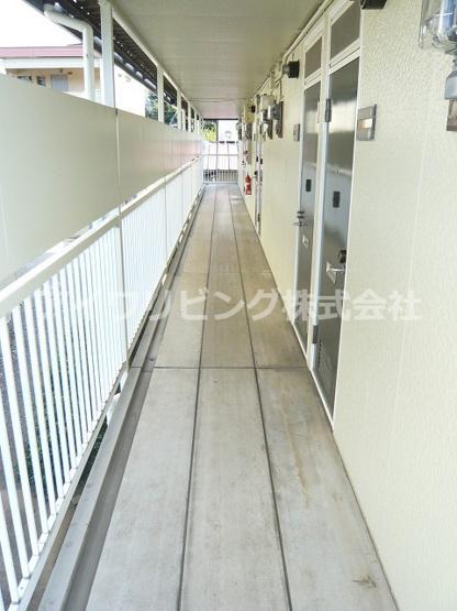 共用廊下【メゾンドPOST】