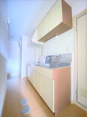 【キッチン】フィットネスマンション マルサン