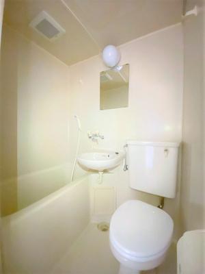 【浴室】フィットネスマンション マルサン